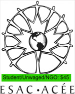 Student/Unwaged/Small NGOs $45